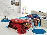 EXP-TRADING MANTA INFANTIL cama de 90 cm ROJO modelo CARS