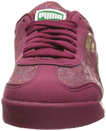 Puma Roma Basic Gleam Jr Synthétique Chaussure de Course Red Plum