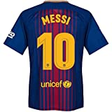 #5: aALLOOkART Messi FC Barcelona # 10 Home Jersey For Adults - New Latest Season 2017 - 2018 - Replica Design - Halfe Sleeve