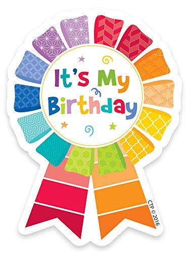 Creative Lehre Press bemalt Palette Happy Birthday Badge (1066)