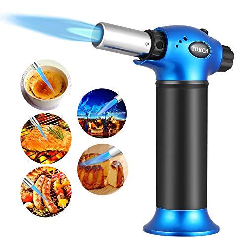 Cookan Bunsenbrenner - Flambierbrenner Butangasbrenner Küchenbrenner Creme Brulee Brenner für Küchen oder Grillen