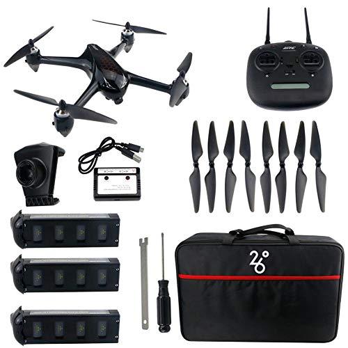 Drone RC Quadcopter HD Camera 1080P per principianti, con fotocamera 5G WiFi, 16-18 minuti di volo, modalità follow e trasmissione FPV in tempo reale