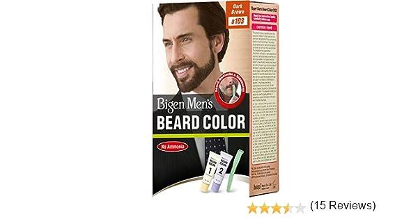 Bigen Men\'s Beard Color - Dark Brown B103: Amazon.co.uk: Beauty