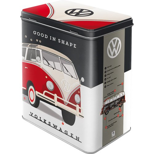 Nostalgic-Art 30148 Volkswagen - VW - Good in Shape  | Vorratsdose L | Aufbewahrungs-Box |...