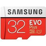 Samsung EVO Plus 32GB 95MB/s Micro SDHC Memory Card with Adapter up to (MB-MC32GA) (Renewed)