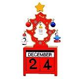 Telecharger Livres Gosear Calendrier de Noel Christmas style Festival cadeau Noel decoration pour chambre a coucher Bureau de sejour rouge (PDF,EPUB,MOBI) gratuits en Francaise