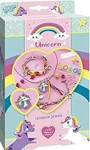 Totum 71063 - Kit Creativo de Unicornio, diseño de arcoíris, Multicolor