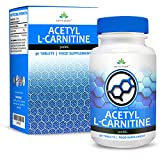 Acetil L Carnitina - Carnitina da 500mg - Amminoacido L Carnitina - 90 capsule (dosi per 3 mesi) da Earths Design