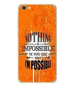 Fuson Designer Back Case Cover for Vivo X7 (Quotation one liner motivational inspiration Honey)