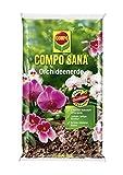 Compo SANA 2 x 10 L Orchideenerde mit 8 Wochen Dünger für alle Orchideenarten, Kultursubstrat aus Pinienrinde, (Orchideenerde, 20 L)