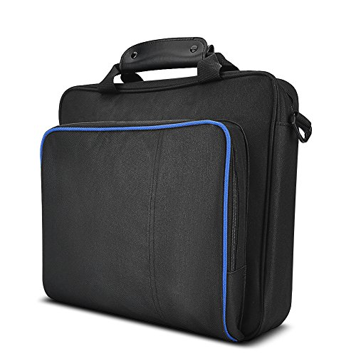 Fosa Portable PS4 Tragetasche Tasche, Wasserdicht Stoßfest Spiel System Protective Travel Case für Playstation 4 System und Zubehör