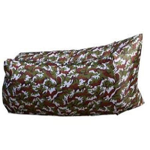 Im Freien Aufblasbarer Ruhesessel-tragbarer Mittagessen-Bruch-aufblasbarer Matten-Taschen-Luft-Bett-kampierender Strand-Schlag-Schlafsack,B