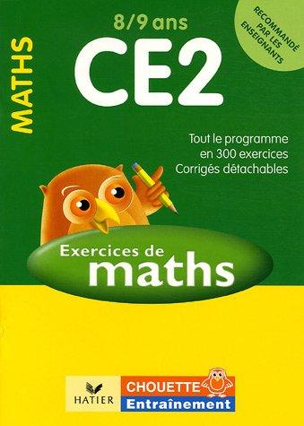 Mathématiques CE2 8/9 ans : Exercices et corrigés