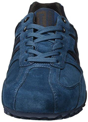 Geox UOMO SNAKE K U4207K01422C6105 Herren Sneaker Blau (Avio/Navy)