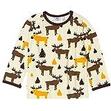 Shirt L/S Moose Elch von JNY aus Schweden Size 86