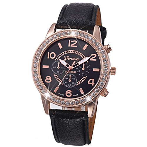 CLEARANCE!! Watches Sonnena Women's Watch Geneva Luxury Diamond Fashion Watch Analog Quartz Wrist Watch, HOT SALE 2018 Wrist Watch for Party Club Casual Watches Valentine's Day Gift Stainless Steel Watch