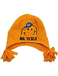 Mr Men Boys Mr Trickle Winter Trapper Hat Age 1-2 Years Orange