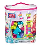 Bring a bright-colored imaginary garden to life with the first builders big building bag by mega bloks in dazzling pink and purple. These pretty pastel blocks encourage open-ended play and help your little builder develop motor skills with hands-on p...