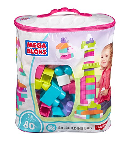 Fisher Price First Builders Big Building Bag, Multicolor