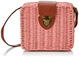 Pepa Loves Angled Minibasket, Bolso Bandolera para Mujer, Rosa (Pink), 8.00x17.00x18.00 cm (W x H x L)