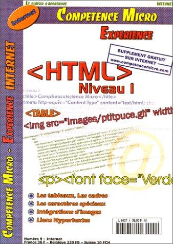 HTML : Niveau 1