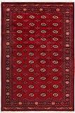 Nain Trading Pakistan Buchara 3Ply 302x199 Orientteppich Teppich Dunkelbraun/Rost Handgeknüpft Pakistan