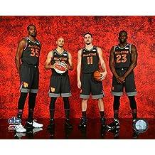 Kevin Durant Stephen Curry Klay Thompson & Draymond Green 2017 NBA All-Star Game Photo Print (27,94 x 35,56 cm)