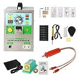 4 EN 1 Soudeuse de points de batterie 709AD, KNOKOO Double LED machine de soudage par points mobile Mig Pulse, avec stylo de soudage 70B