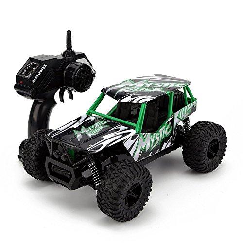 TOYEN RC Autos, ferngesteuert, 1/16 Maßstab 2 WD 2,4 Ghz Hochgeschwindigkeits-Spielzeug für Kinder