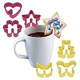 Metaltex Ausstechformen für Kaffeekekse
