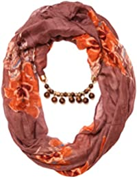 "Scarf Necklace Animal Printed Brown Necklace Scarf Pendant Scarf Stole Wrap Muffler Scarves ORDER NOW "" - B0787T2KDY"