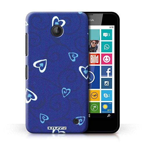 iCHOOSE Print Motif Coque de protection Case / Plastique manchon de telephone Coque pour Apple iPhone 4/4S / Collection Coeur Vigne Motif / Rose/Rouge Bleu/Turquoise