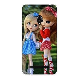 Cute Sister Doll Multicolor Back Case Cover for Zenfone 5