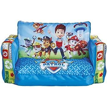 Children S Comfy Foam 2 Seater Mini Sofa In Red Soft