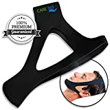 #3: Care365 Anti Snoring Devices Snoring Stopper Sleep Apnea Support for Man and Women (Black-Free Size)