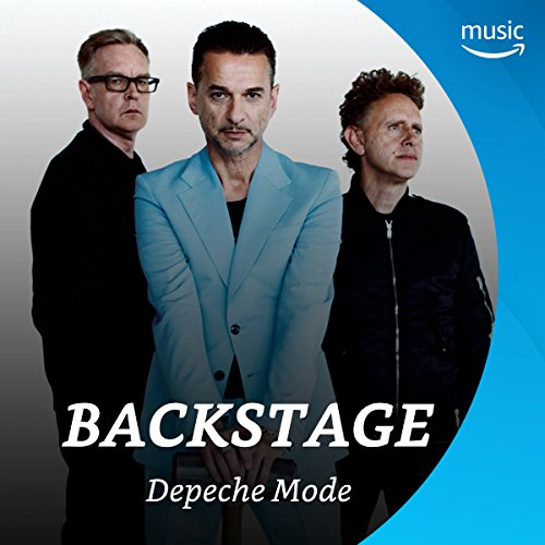 Backstage mit Depeche Mode