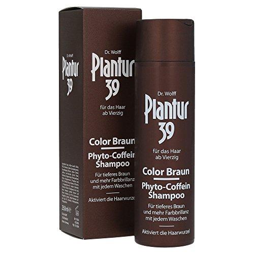 Plantur 39 Color Braun Phyto-Coffein-Shampoo, 250 ml