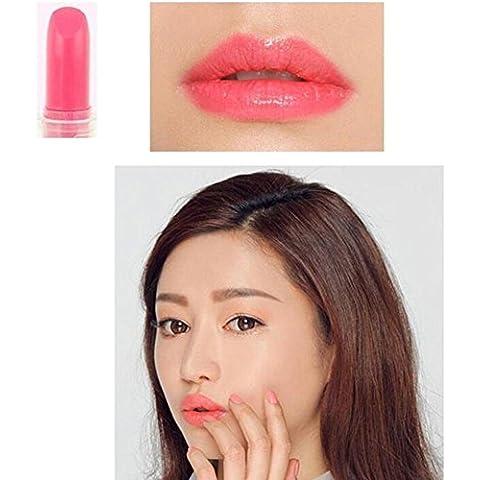 Molie Los 5.5CM brillante de labios Rouge f¨¢cil de usar l¨¢piz labial de 14 colores mujeres de la manera Maquillaje (1 pieza)