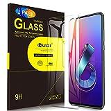 KuGi. pour Verre trempé ASUS Zenfone 6 ZS630KL, [Dureté 9H] HD Ultra Transparent Protection écran en Verre trempé pour ASUS Zenfone 6 ZS630KL (Pack de 2)