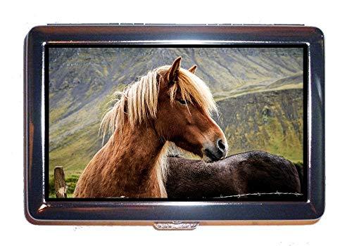 Custodia per sigarette scatola per 14 pezzi, fili di sbarramento per fotografia animali di animali, scatola per scatola portamonet