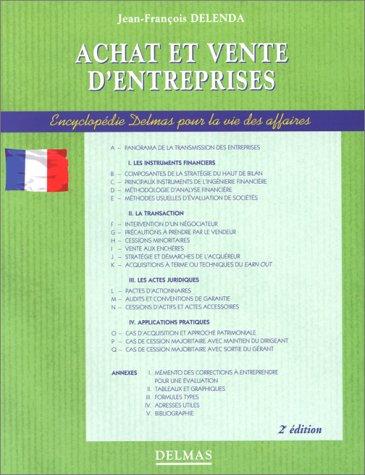 ACHAT ET VENTE D'ENTREPRISES. 2ème édition 1997