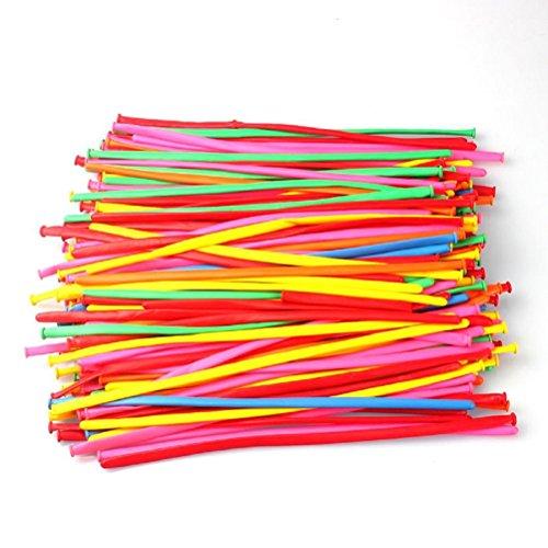 llons zum Modellieren, 200 Stück, 260Q (Farbe zufällig gewählt) (260 Ballons)