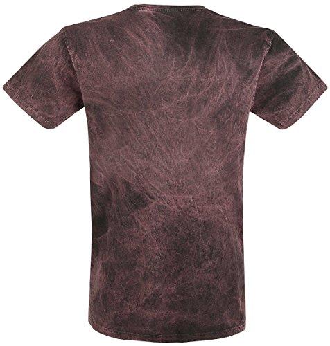 Slayer Eagle T-Shirt Grau/Rot Grau/Rot