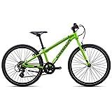 Orbea MX 24 Speed Zoll MTB Kinder Fahrrad 7 Gang Rad Aluminium Jugend Kids Mountain Bike Shimano, I032, Farbe grün