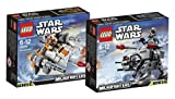 Lego Star Wars Set Snowspeeder 75074 e AT-AT 75075 - 9120063893874