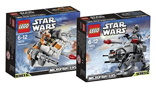 LEGO Star Wars Set - Snowspeeder 75074 und AT-AT 75075 - 9120063893874 - Walker Wars At-at Star Lego
