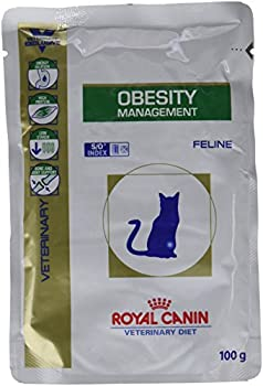 Royal Canin  Veterinary Diet Cat Obesity Management Nourriture pour Chat - 12 x 100 g