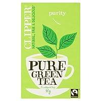 Clipper Fairtrade Pure Green Tea, 50g