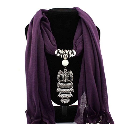 feitong-women-necklace-scarves-owl-pendant-jewelry-tassels-scarf-shawl-wrap-purple