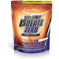Ironmaxx Unisex 100% Whey Isolate Zero Strawberry Powder, Multicoloured, 2000 g